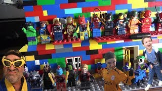 Best 3 Story Lego House with Superheroes & Starwars Characters 2