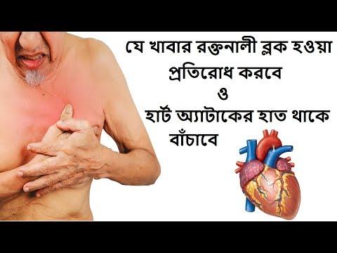 রক্তনালী ব্লক প্রতিরোধ করবে ও হার্ট অ্যাটাকের হাত থাকে বাঁচাবে যে খাবার || Protect Your Heart Attack