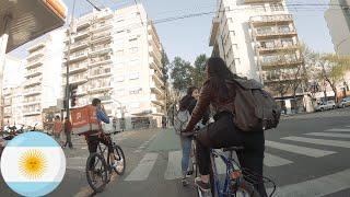 Paseo En Bicicleta Por Palermo-Colegiales, Buenos Aires - Argentina