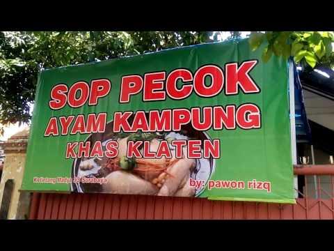 Video Wisata Kuliner Sop Pecok Ayam Kampung Khas Klaten