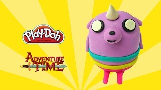 play doh TV puppy from Adventure Time - How to make with playdoh