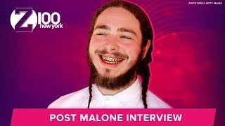 Post Malone Dreams of Meeting Ed Sheeran at Medieval Times | Interview