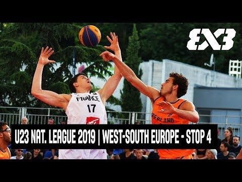 Re-Live - FIBA 3x3 U23 Nations League 2019   West-South Europe - Stop 4 - Voiron, France