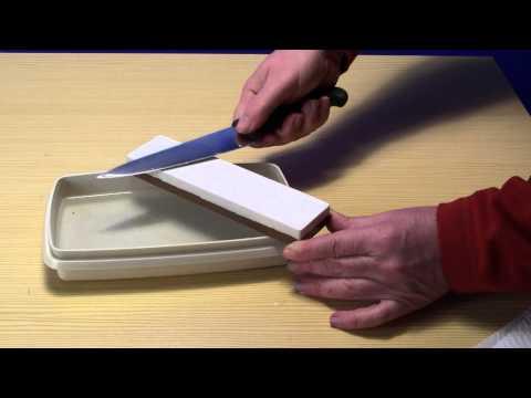 How To - Messer abziehen auf dem Abziehstein - www.pizzini.at