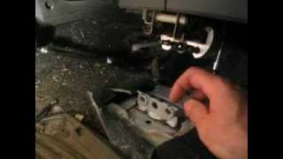 VW Seat Mount Repair - Deliciously Easy!