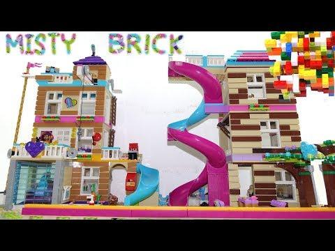 Lego Friends 41340 Dom Przyjaźni Nowość 2018 Budowanie