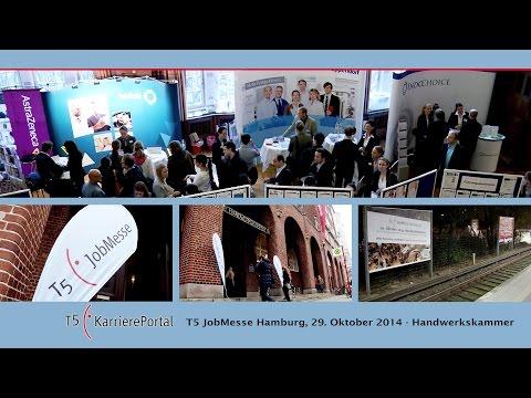 T5 JobMesse in Hamburg für Stellenangebote in den Bereichen Life Sciences, Biotechnologie, Medizintechnik, Pharmazie und Biologie