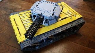 Camera Lego Nxt : Lego mindstorms nxt big remote controlled tank Самые лучшие видео