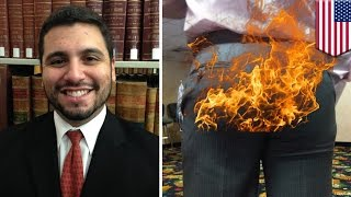 Attorney's Pants Ignite During Arson Trial