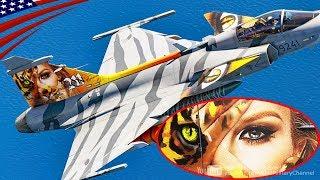 """JAS-39 Gripen """"Wildcat Women"""" Painting Jet - Czech Air Force 9241"""