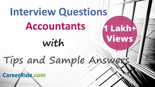 Accounting Interview Questions and Answers - For Freshers and Experienced Candidates