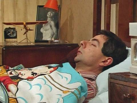 Alarm clock and getting up   Mr Bean Official
