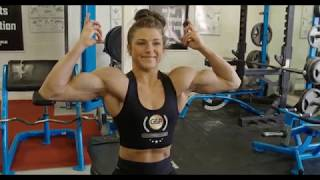 Emily Brand Session 2 Trailer - Women's Physique - FBB - Fitvids.co.uk