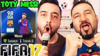 TOTY MESSI! EFSANE MAÇ | FIFA 17 FUT DRAFT