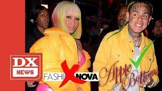 """Nicki Minaj Made Tekashi 6ix9ine Change Lyrics Promoting Fashion Nova In """"MAMA"""" Song With Kanye West"""