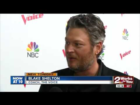The Voice Coach Blake Shelton on his sense of humor and love of Oklahoma