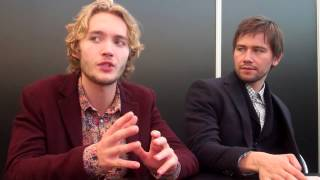 Тоби Регбо, NYCC 2013 -- Toby Regbo & Torrance Coombs -- Fangirlish