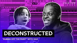 "The Making Of YBN Nahmir's ""Rubbin Off The Paint"" With Izak 