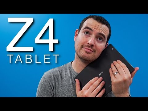 Xperia Z4 Tablet Review – I LOVE this tablet!