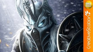 The Lich King - Speed Painting (#Photoshop) | CreativeStation GM
