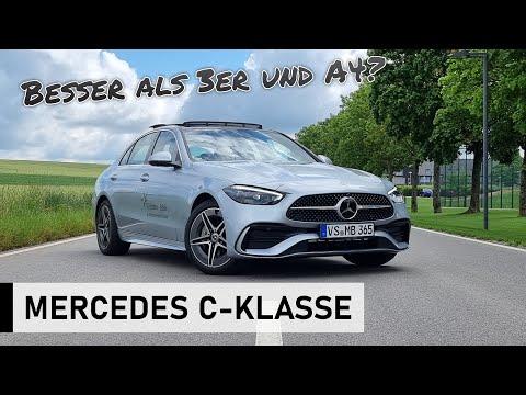 Die NEUE 2021 Mercedes-Benz C-Klasse: Der C300d im Test! - Review, Fahrbericht, Test