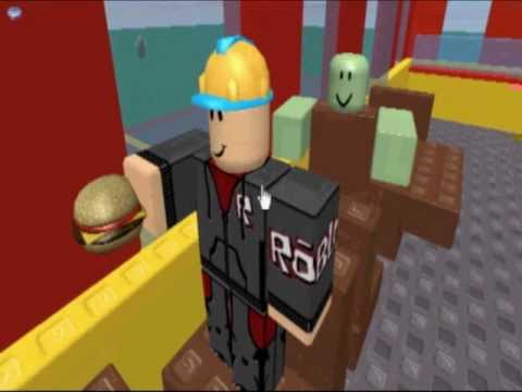 Zombies Are Attacking Mcdonalds Roblox