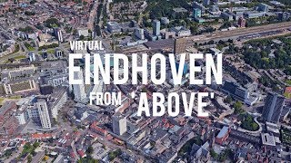 Virtual Eindhoven from above.