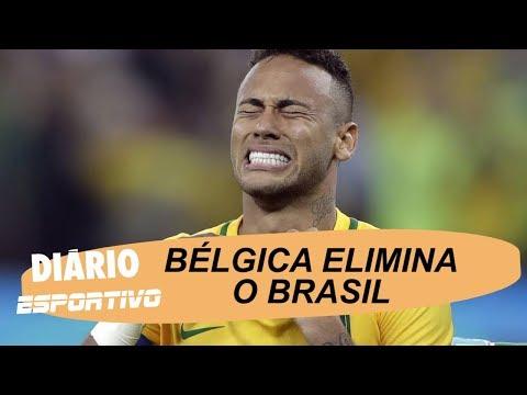 Diário Esportivo debate a eliminação do Brasil na Copa do Mundo