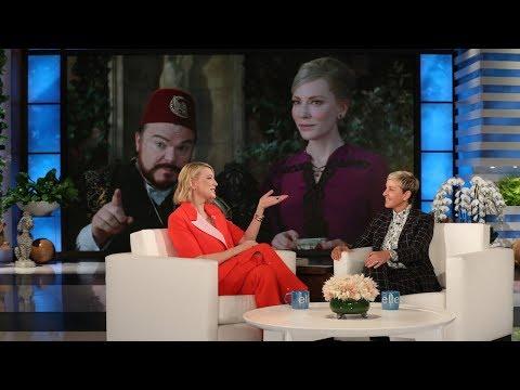 Oscar Winner Cate Blanchett is 'Deeply Uncool' in Her Household