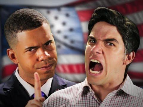 Barack Obama vs Mitt Romney. Epic Rap Battles Of History