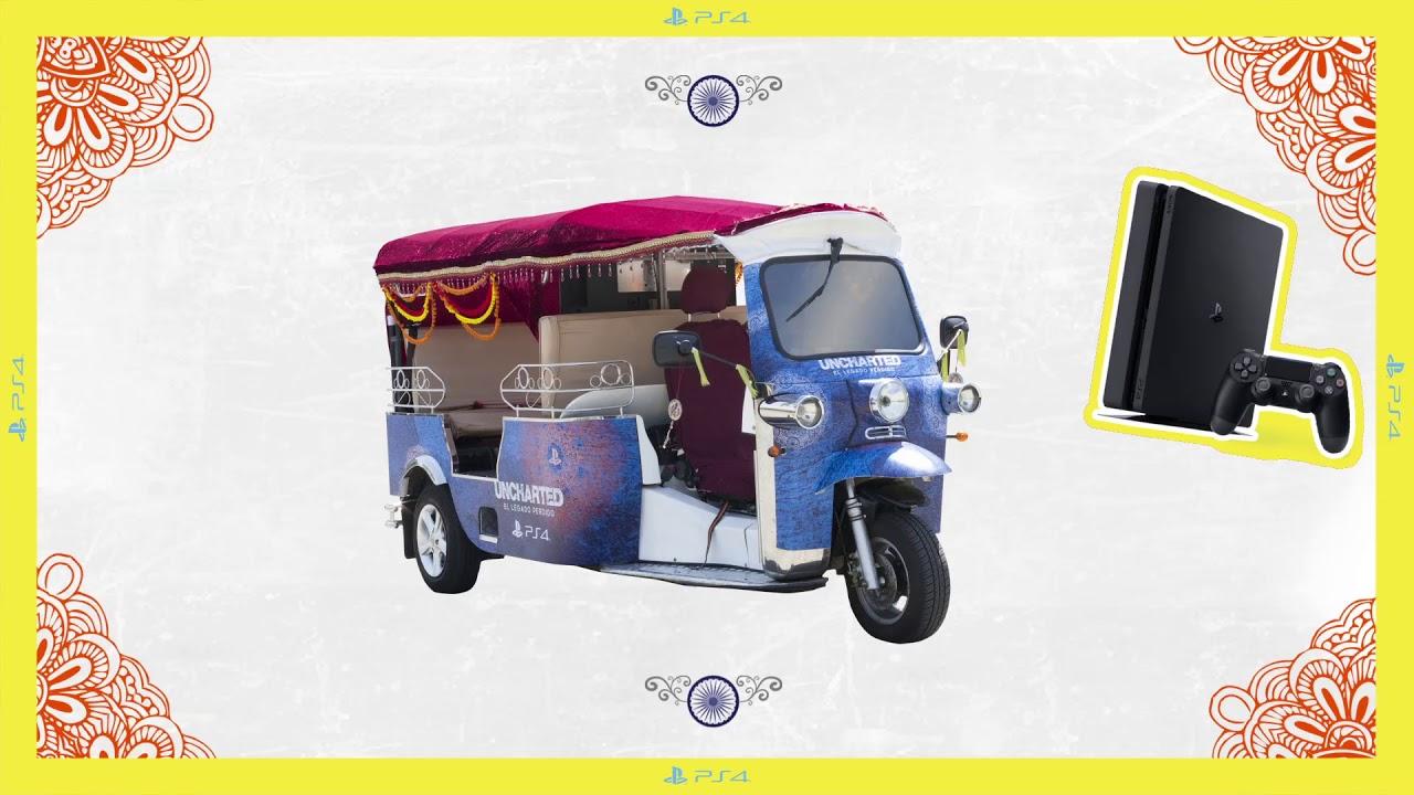 #TukTukUncharted | Celebra la llegada de Uncharted: El Legado Perdido viajando en nuestro tuk tuk