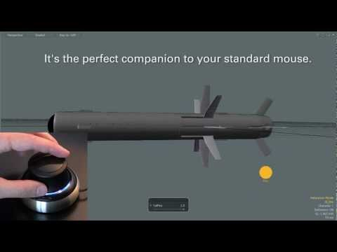 SpaceNavigator 3D Mouse Demo