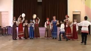 """Фольклорный ансамбль """"Вершки и корешки"""", г. Москва  - 1.Колядка  2.Камаринская"""