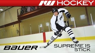 Bauer Supreme 1S Stick On-Ice Review