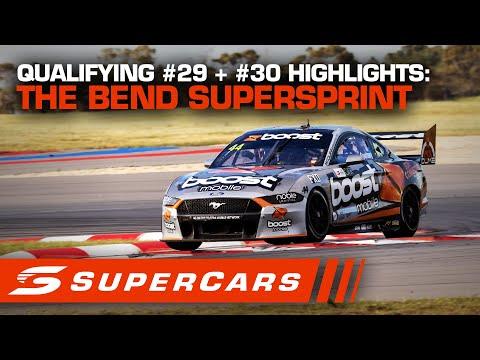 2020年 SUPERCARS OTRザベンド500 スーパースプリント#30予選レースハイライト動画