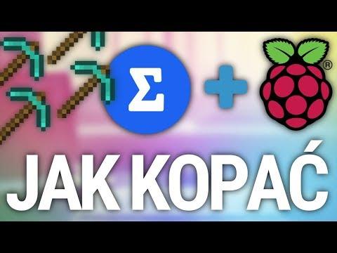 Jak kopać kryptowaluty na Raspberry Pi 3 ⛏️