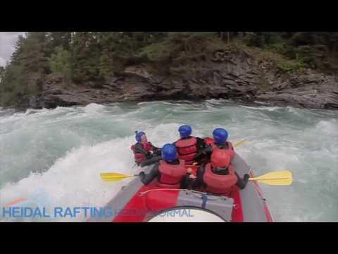Guidet raftingtur for hele familien med Heidal Rafting i Sjoa