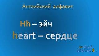 Английский алфавит. Часть 2. English alphabet. Part 2