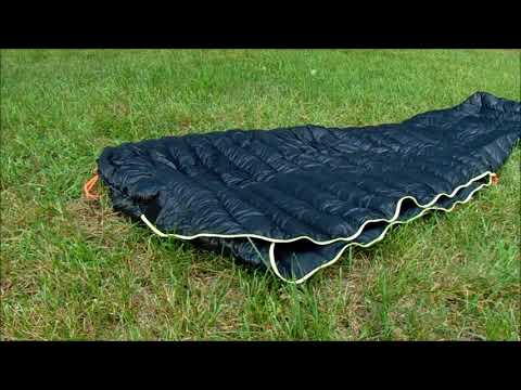 Aegismax down sleeping bag & Costco down quilt combo review