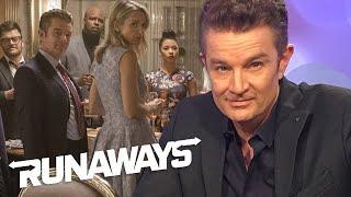 RUNAWAYS | TooFab : James Marsters Talks 'Runaways' and His Wish to Take on Tony Stark (21.11.17)