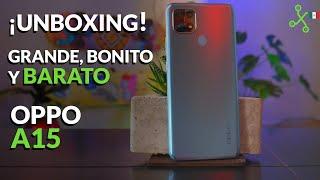 OPPO A15, UNBOXING y PRECIO en México: BONITO y BARATO