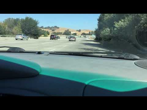 Carrera 4S Merging Into Freeway With The Lovely Boxer 6 Engine Sound