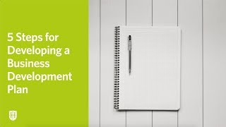 5 Steps for Developing a Business Development Plan