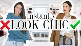 10 Ways to Look CHIC & STYLISH in Under 5 MINUTES!