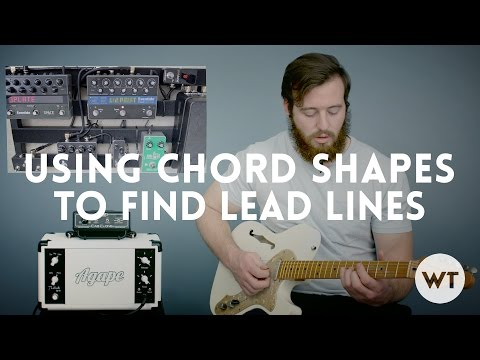 Lead Guitar Lesson - Use Chord Shapes To Find Lead Lines Mp3