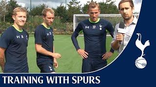 Spurs Crossbar Challenge ft. Eriksen, Holtby & Kane
