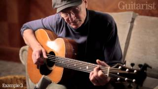 James Taylor on playing and technique: exclusive video for Guitarist magazine