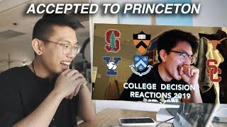 REACTING TO MY BROTHER'S COLLEGE DECISION REACTION - He LIED!