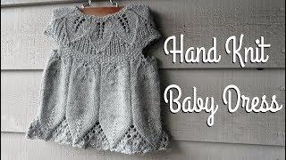 Knitting a Baby Dress || Sabrina's Dress