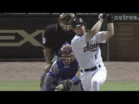 David Matranga homers in his first MLB at-bat